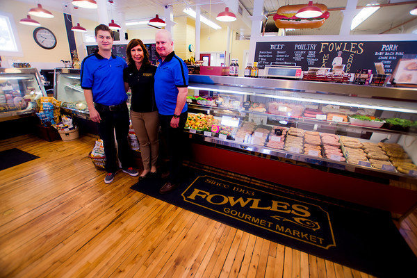 Owners  Andrew, Suzanne, and Richard Elliot  of Fowles