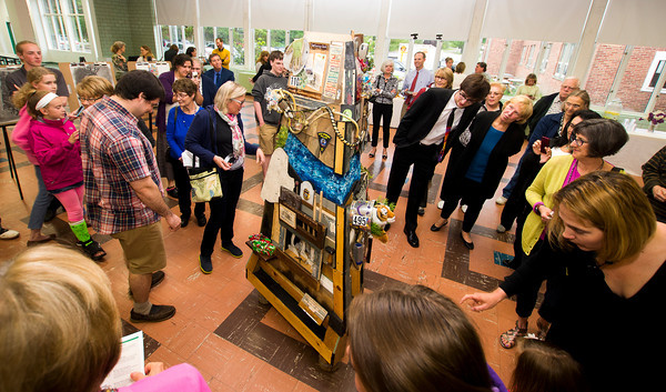 Unveiling of the pentucket Arts project