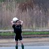 Elena Lindonen in a U10 game at Amesbury Sports Park.