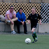 Caroline Schluson in a U10 game at Amesbury Sports Park.