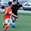 Ethan Trejo in a U8 game at Amesbury Sports Park
