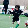Ethan Trejo  in a U8 game at Amesbury Sports Park.