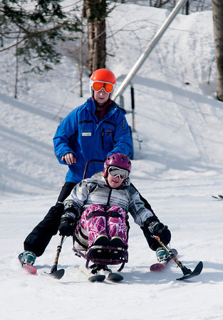 Caroline Cook  works with  Becky Fillmore at Loon Mountain