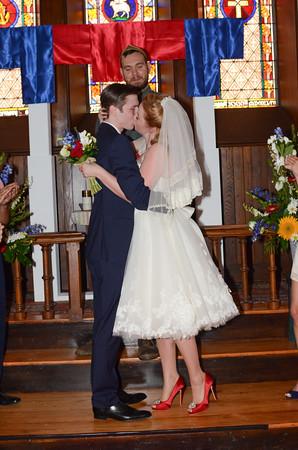 "Wedding of Jon Merrit and Anna Jones at St Ann's Chapel in July of this year Rachel Kloss of <a href=""http://dragonflyshots.com/"">http://dragonflyshots.com/</a>"