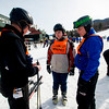 Hal Sandstrom with  James Leahy and instructor  Gregg Obuchowski at Loon Mountain