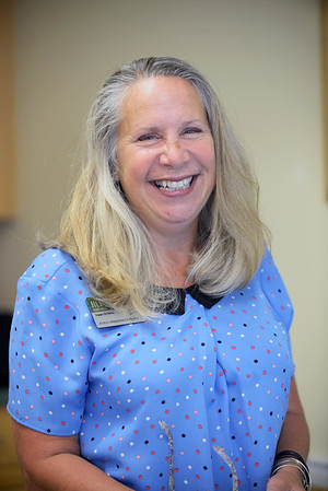 BRYAN EATON/Staff photo. Jill Ramsdell, engaged life director at Atria Merrimack Place.