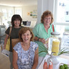 JIM VAIKNORAS/Staff photo Sue O'Brien of Plastow NH, Jean Carusi of Newburyport, and Mary Ellen Sorenson of Haverhill at 89 Northern Blvd,Plum Island during the annual Kitchen tours