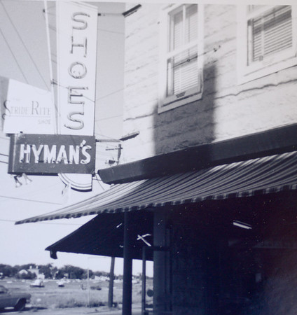 JIM VAIKNORAS/ Staff photo Original location of Hyman's on the corner of Merrimac and Green Street in Newburyport.