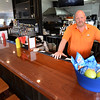 BRYAN EATON/Staff Photo. Pub manager Ron Margeson at the renovated pub at Ould Newbury Country Club.