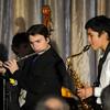 JIM VAIKNORAS/Staff photo   Joe Wilson of flute at the Pentucket Jazz Cafe .