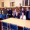 JIM VAIKNORAS photo.The NEF board at the Newburyport High Library.