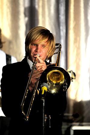 JIM VAIKNORAS/Staff photo     Leo Belyi at the Pentucket Jazz Cafe .