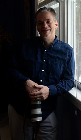JIM VAIKNORAS/Staff photo Matthew Shelter at his Byfield home.