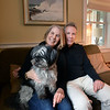 BRYAN EATON/Staff photo. Linda and Steve Blackwood at home with