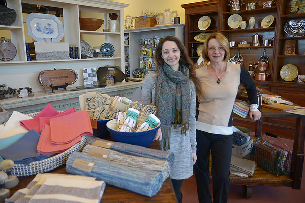 JIM VAIKNORAS/Staff photo  Mother and Daughter owners of Port Plums
