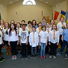 JIM VAIKNORAS/Staff photo The Greater Newburyport Children's Choir at the Hope Church in Newburyport.