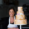 JIM VAIKNORAS/Staff photo Jenny Williamson at her bakery in Amesbury.
