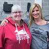 JIM VAIKNORAS/Staff photo Barbara Ensign and Jennifer Barsalov of Sweet Paws Rescue at Fitness Together's Have a Heart Fundraising Event to benefit Sweet Paws Rescue.