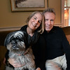 BRYAN EATON/Staff photo. Linda and Steve Blackwood at their Newburyport home with