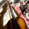 BRYAN EATON/Staff photo. The fiddle is one of the instruments he rocks on with when he plays with Crazy Maggie.