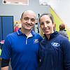 JIM VAIKNORAS/Staff photo Owners Sean and Hannah Stellmach at Fitness Together's Have a Heart Fundraising Event to benefit Sweet Paws Rescue.