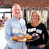JIM VAIKNORAS/Staff photo Tom Quill and Jill Passen of Angry Donut.
