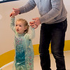 JIM VAIKNORAS/Staff photo Lily Tibbetts, 4, of Scarborough ME skates with her dad Chris at the Frozen Brunch and Skate  Party at Seaglass in Salisbury.