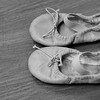 Ballet slippers at the Broadway Dance Academy in Newburyport.
