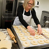 JIM VAIKNORAS/Staff photo Jill Passen of Angry Donuts at Local Kitchen in Amesbury.