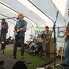 JIM VAIKNORAS/Staff photo Way to the River performs at the WE=NBPT festival at the Tannery in Newburyport Saturday.