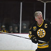 JIM VAIKNORAS/Staff photo Bruin's alumni Terry O'Reilly at the Newburyport Youth Hockey's game against the Boston Bruin's Alumni team Saturday at the Graf Rink in Newburyport.