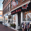 BRYAN EATON/Staff Photo. Liveley Kids, a play on Kim Liveley's name on State Street was one of the shops she started in downtown Newburyport.
