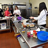 BRYAN EATON/Staff Photo. The kitchen that served the Salisbury Memorial School is now utilized for aspiring cooks and youngsters that just want to learn about cooking.