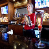 BRYAN EATON/Staff Photo. Bartender and manager Sue Derrico has been with Loretta for nine years.