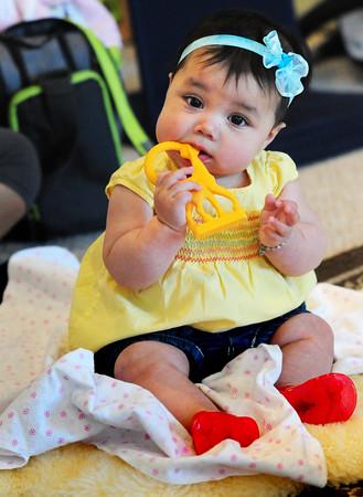 Olivia Murphy, 6 months, at Harmony.