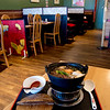 JIM VAIKNORAS/Staff photo Sukiyaki serves from a cast iron pot at the table at Hanna Japan in Newburyport.