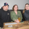 JIM VAIKNORAS/Staff photo Eric Stevenson, Amanda Burns and Amanda Langas enjoy a beer with their JAJU pierogis at Silvaticus.