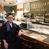 JIM VAIKNORAS/Staff photo Kosuke Takahashi owner of Hanna Japan in Newburyport.