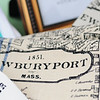 JIM VAIKNORAS/Staff photo Newburyport map dish towels $20 from Robin Woods Design robinwooddesign.com at the Newburyport Farmers market
