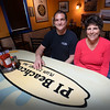 BRYAN EATON/Staff Photo. Gregg Pugh, owner of the Beachcoma with his sister Joyce Hartigan who owns Bob Lobster a half mile away.