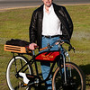 JIM VAIKNORAS/staff photo<br /> Stewart D. Shernan, Designer and Builder of the Yeat Cycle.