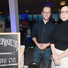 JIM VAIKNORAS/Staff photo Ashley Bush and Bryan Dinger of the Buttermilk Baking Co at the Anna Jaques Aid Association Chef's Night at Blue Ocean in Salisbury.