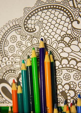 JIM VAIKNORAS/Staff photo Colored pencils
