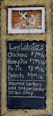 BRYAN EATON/Staff Photo. Joyce Hartigan's husband Bob catches the namesake restaurant's lobsters.