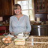 JIM VAIKNORAS/Staff photo  Plum Island Cookie Company owner Dawn Marie Shay in her kitchen