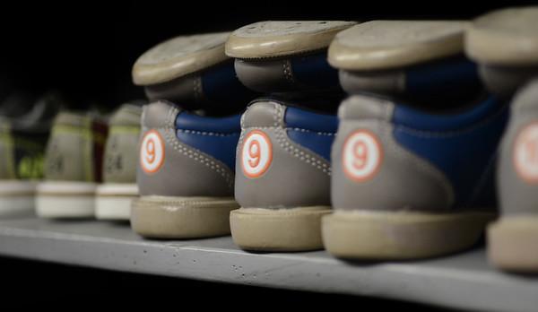 JIM VAIKNORAS/Staff photo Shoes at Riverwalk in Amesbury