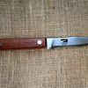 JIM VAIKNORAS/Staff photo Parker River Knife Co.  Outdoorsman Knife