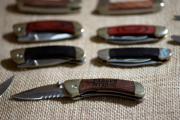 JIM VAIKNORAS/Staff photo Parker River Knife Co.