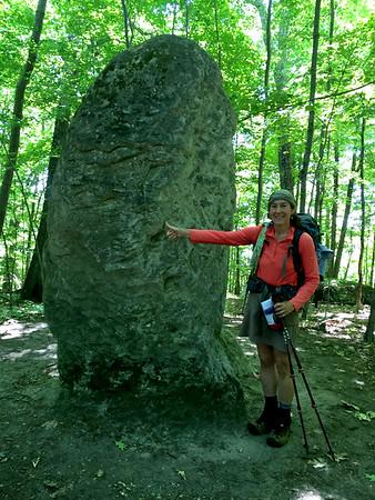 Sheryl  Lambert atFalls Village on the Appalachian Trail