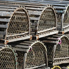 JIM VAIKNORAS/Staff photo Lobster Traps at Oldies in Newburyport. $55